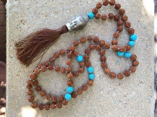 buddha beads necklace