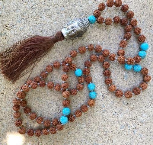 buddha beads necklace