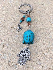Buddha Keyring