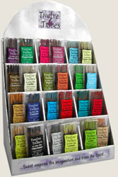 Twelve Tribes Incense Mini Stix Display