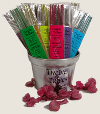 Twelve Tribes Incense Tub O' Stix Display